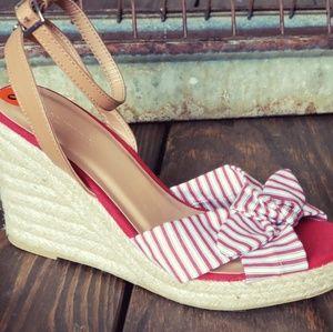 New! Nautica Sandal Wedge